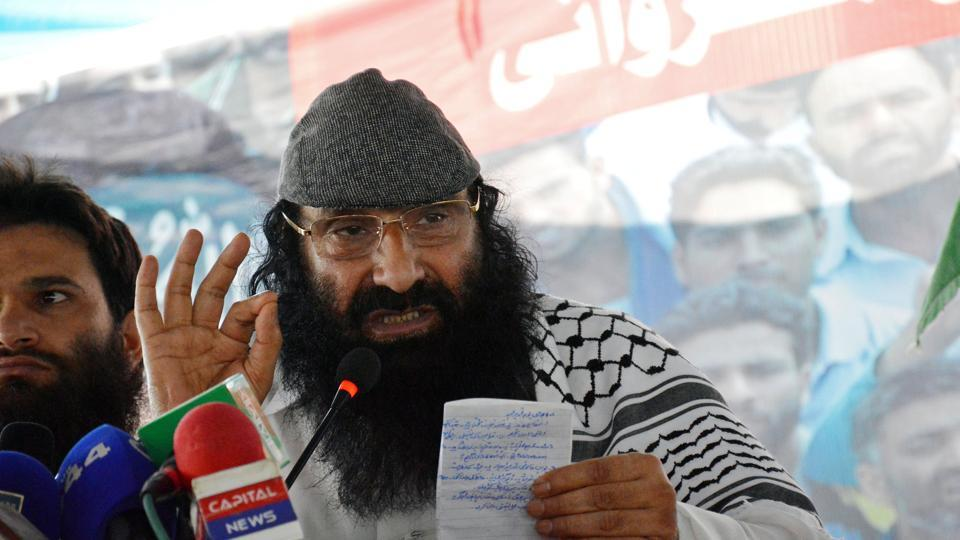 Hizbul Mujahideen,United States,Pakistan