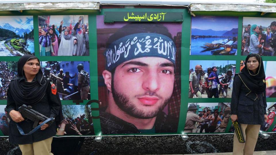 Pakistan,Burhan Wani,Hizbul Mujahideen