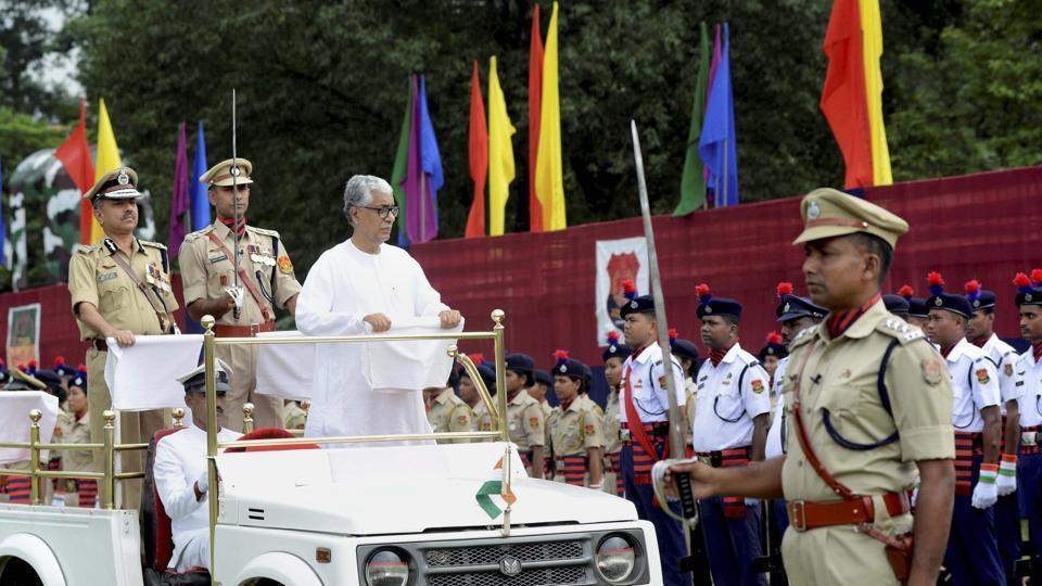 Tripura,Censorship of Independence Day speech,CPI-M