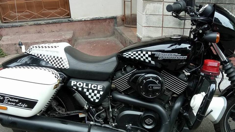 Harley-Davidson,Kolkata Police,Superbike