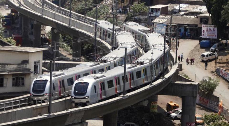 Mumbai,Metro,Versova Andheri Ghatkopar