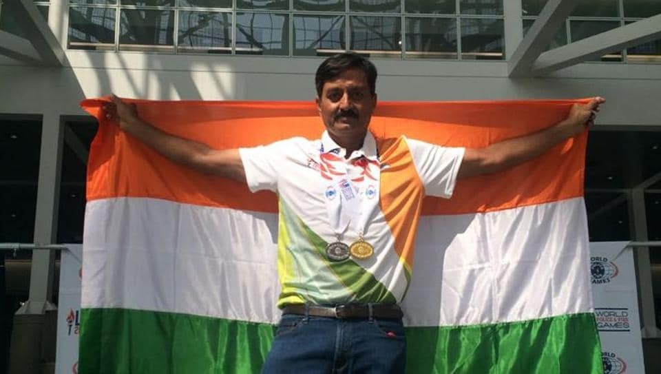 World Police Games,World Police and Fire Services Games,Pushpendra Rathore