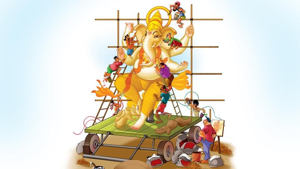 Mumbai,Ganpati,Ganeshotsav