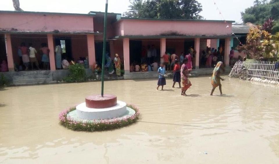 Flood,Bihar flood,relief camps