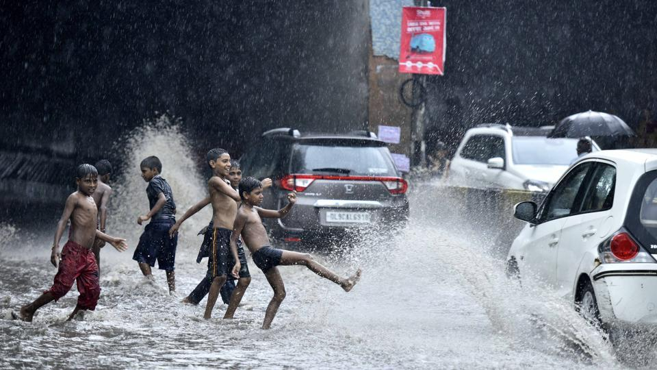 Delhi,Monsoon,Thundershowers