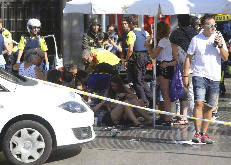 Woman escapes terror attack at Barcelona after London, Paris