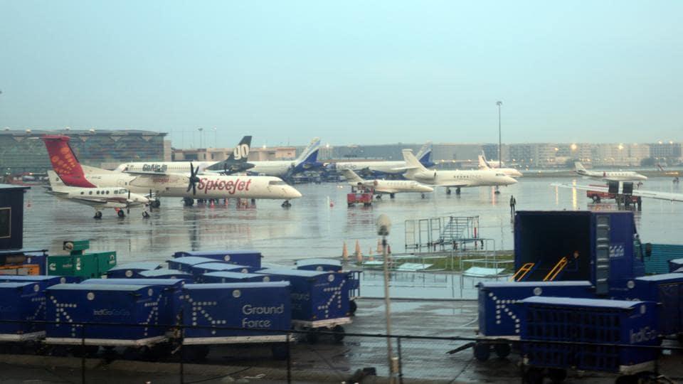 Delhi airport,airport T2,T1