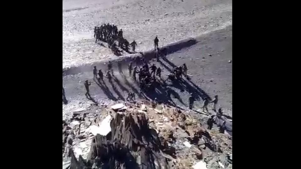 Did Indian, Chinese soldiers pelt stones at each other in Ladakh on Aug 15? Video surfaces