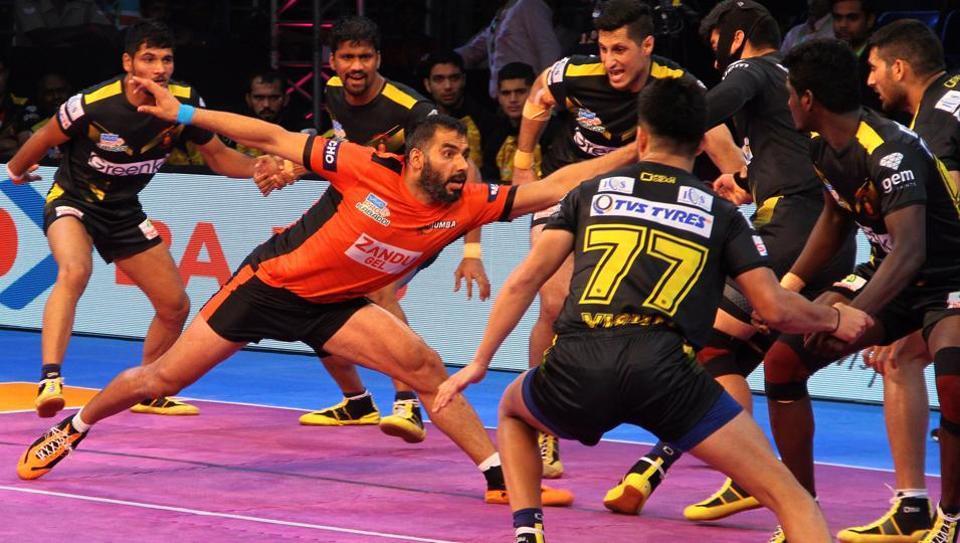 Pro Kabaddi League,U Mumba,Telugu Titans