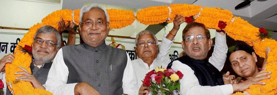 Sharad Yadav,Lalu Prasad,Bihar CM Nitish