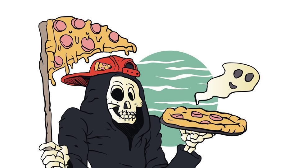 hamburgers health,pizaa bad for health,pizza nutrition
