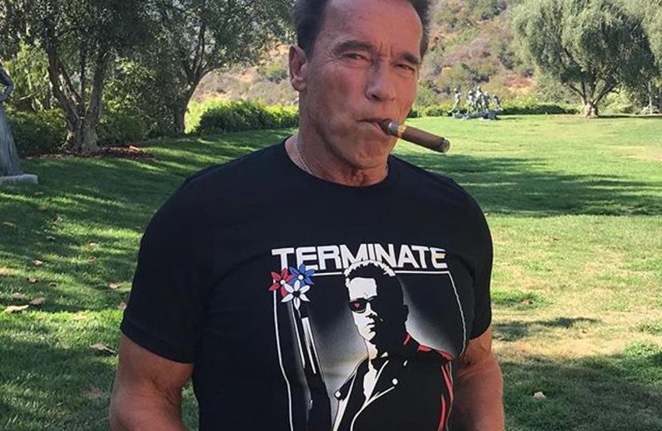 Arnold Schwarzenegger,Donald Trump,Terminator