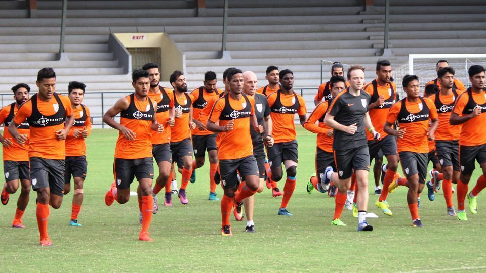India vs Mauritius,tri-nation football series,football