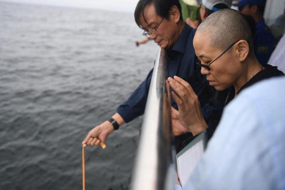 Liu Xiaobo's widow reappears in YouTube video