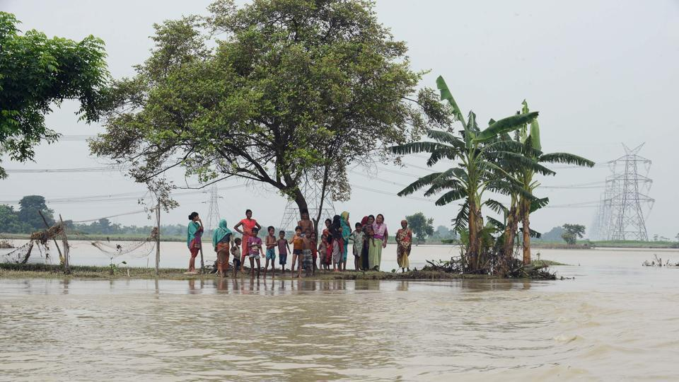 Bihar floods,Bihar flood situation,Nepal floods