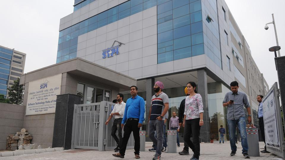 Software Technology Parks of India,STPI Mohali,IT exports