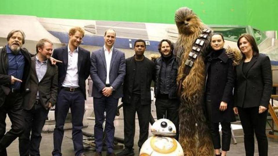 Prince William,Prince Harry,Star Wars