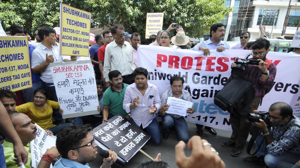 Buyers threatened to gherao the CM's residence in Lucknow if their demands go unheard.