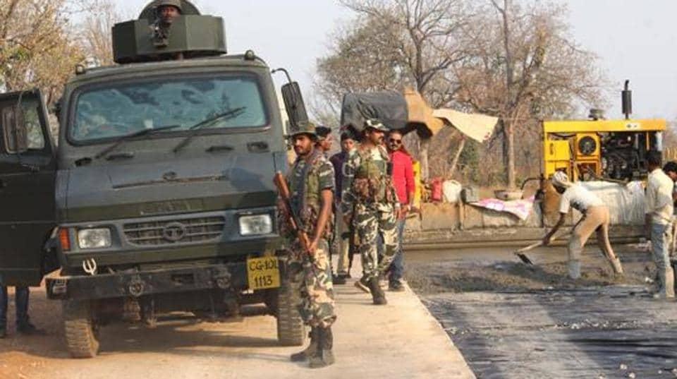 Chhattisgarh,Maoist areas,CRPF