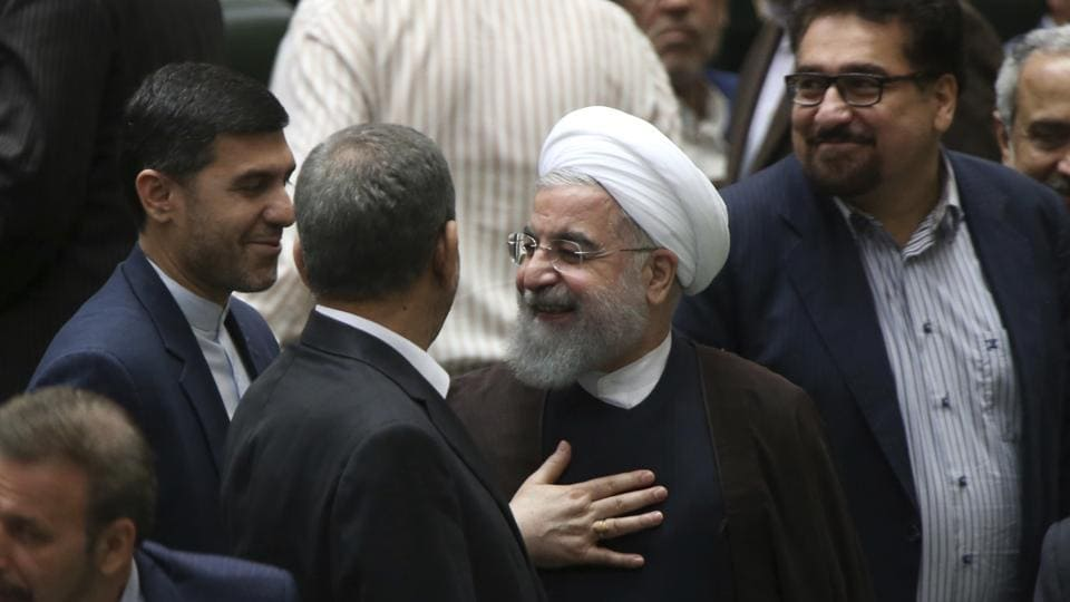 Iran,Hassan Rouhani,Revolutionary Guard