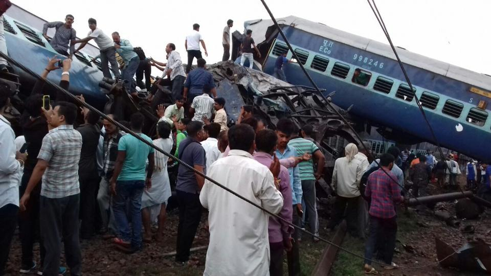 Kalinga Utkal Express,Muzaffarnagar,Uttar Pradesh