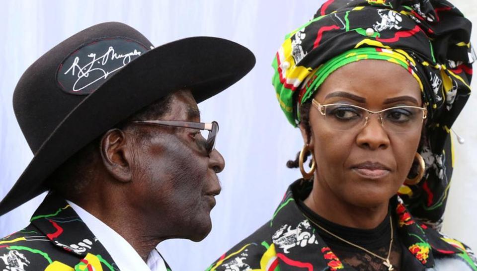 Zimbabwe,South Africa,Grace Mugabe
