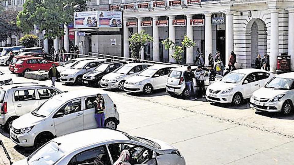 Delhi,parking,parking policy