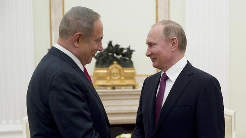 Israeli PM Netanyahu Plans Visit To Sochi To Meet With Putin