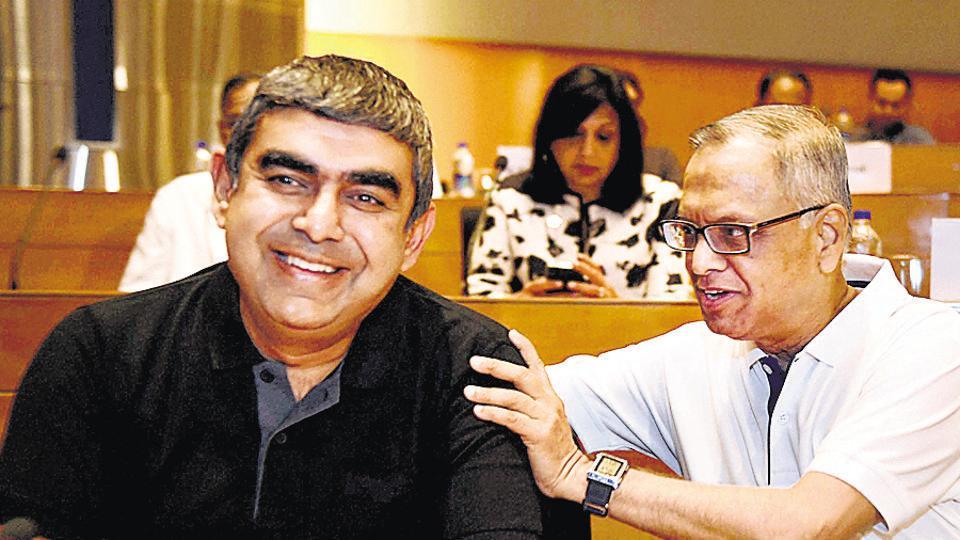 Infosys,Vishal Sikka,Narayana Murthy