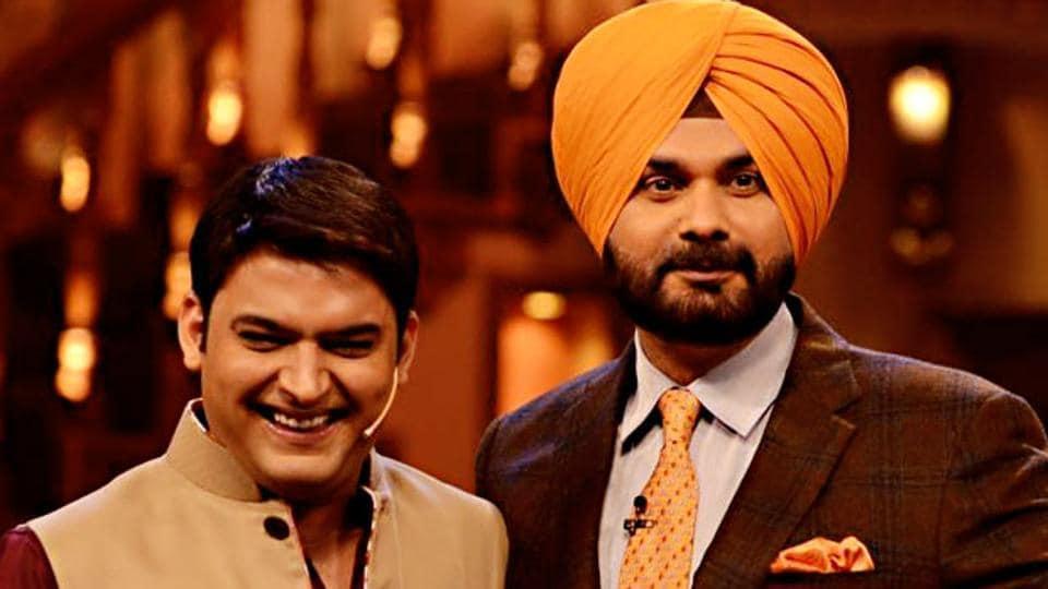 Kapil Sharma,Navjot Singh Sidhu,The Kapil Sharma Show