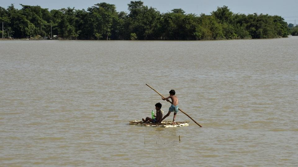 Some students are planning to visit the flood-affected areas to work as volunteers.