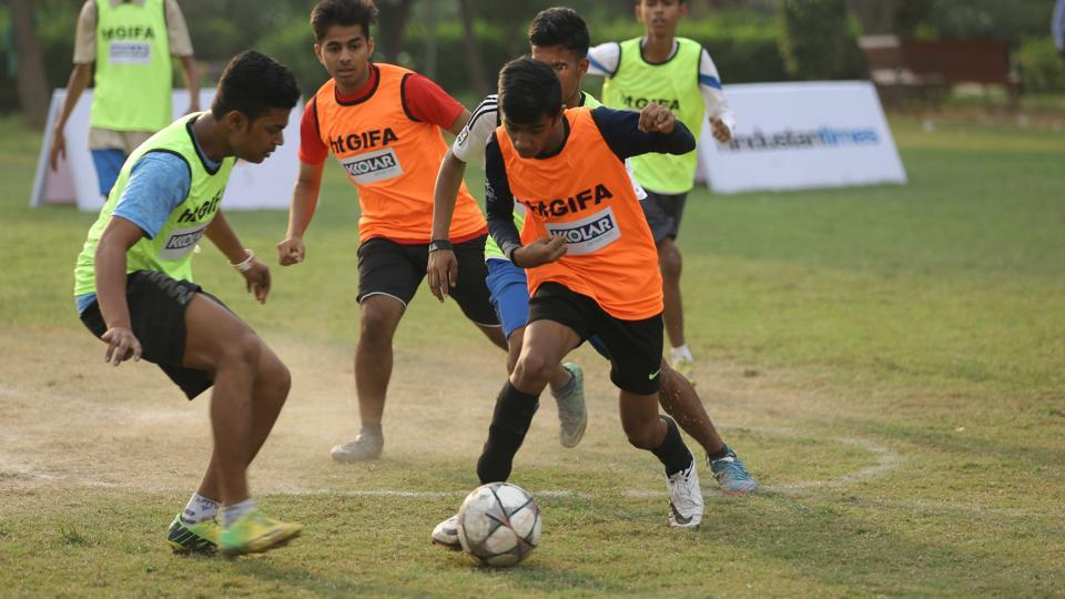While the numbers of boys are still substantially high compared to girls, the 2017 SARE Homes HTGIFAhas seen an increased participation of girls in the football tournament.