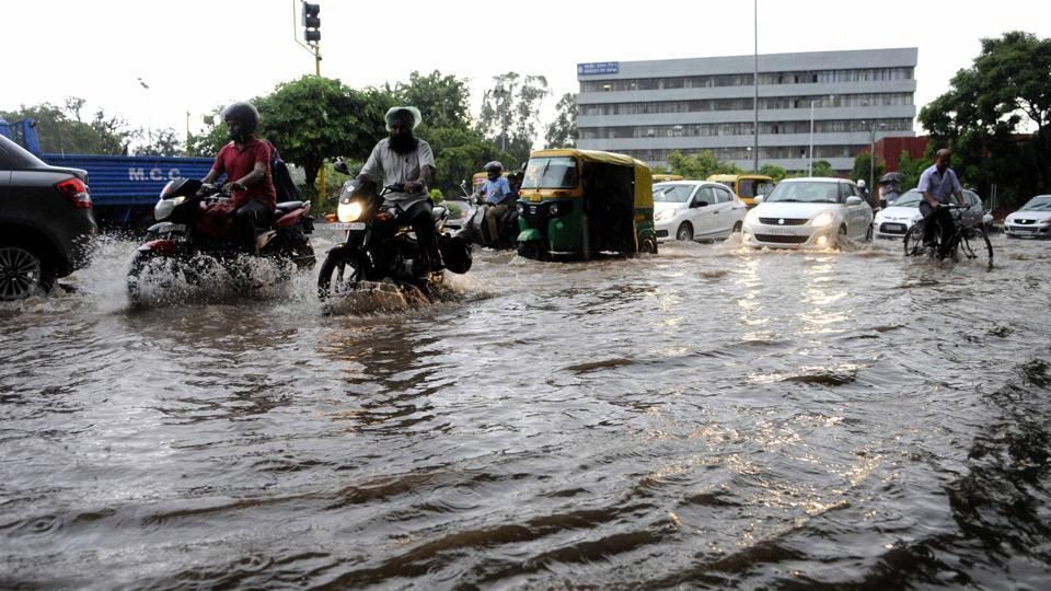 Chandigarh rain,Rains in Chandigarh,Rains in tricity