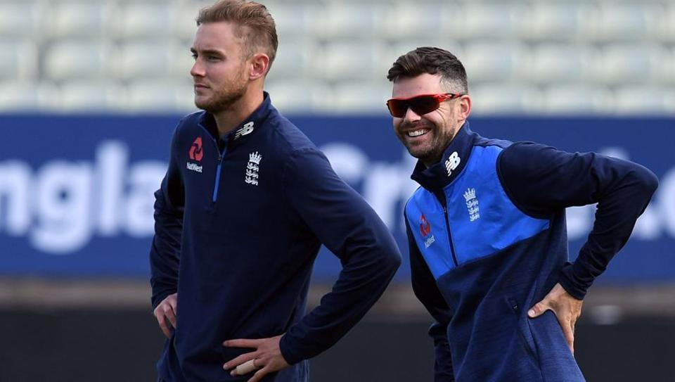 England cricket,Stuart Broad,James Anderson