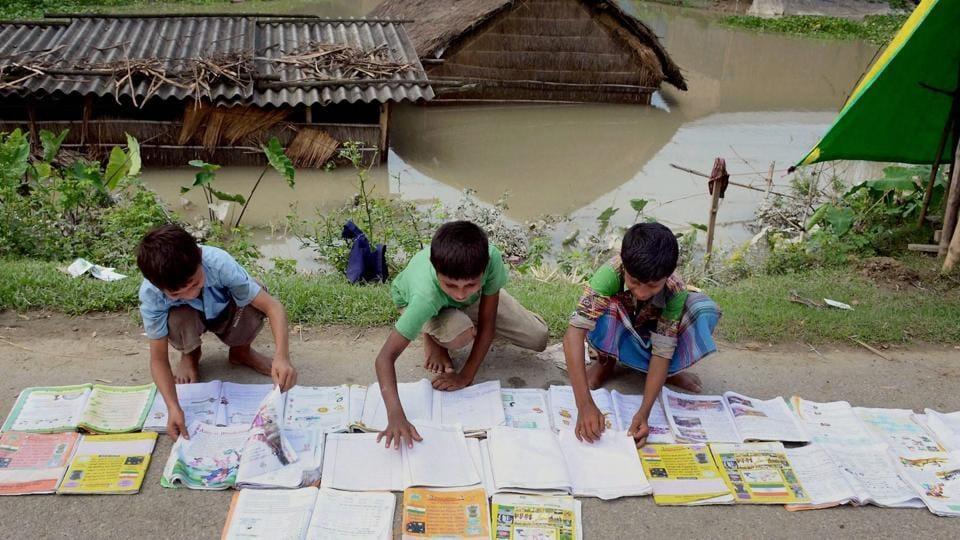 Assam flood,Brahmaputra,Darang district