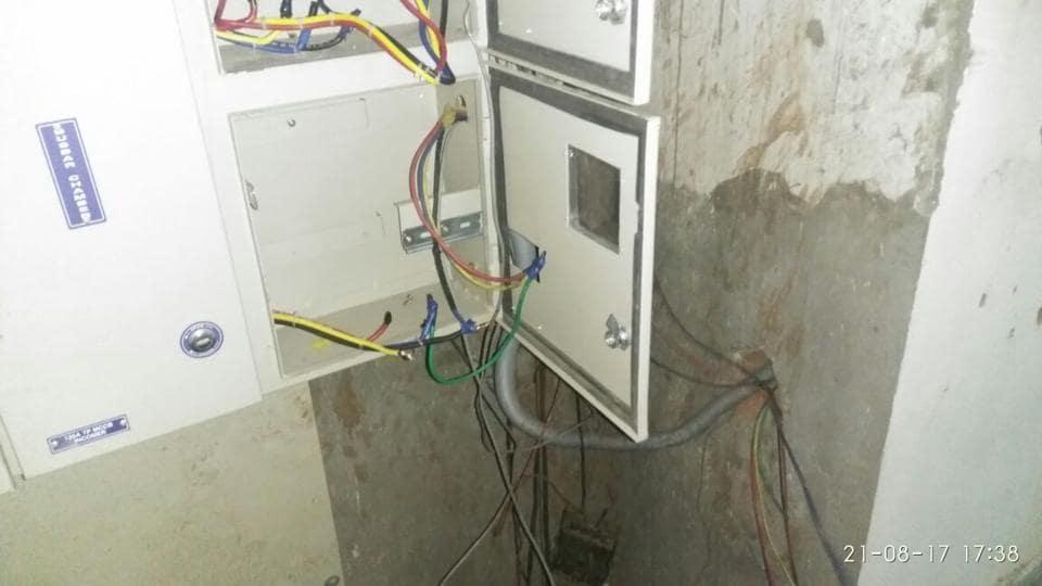Noida,AVJ Heights,unpaid power bill