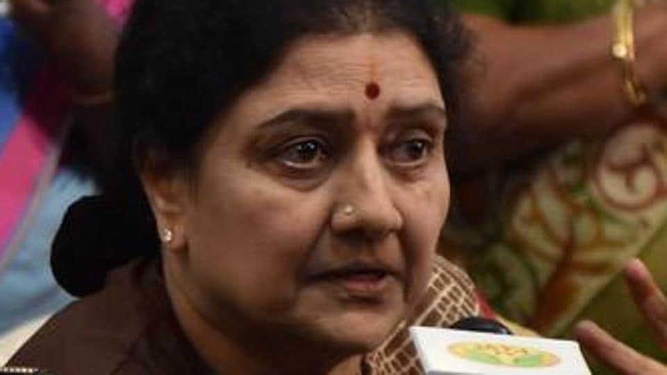 Sasikala video submitted as proof for allowed to leave prison