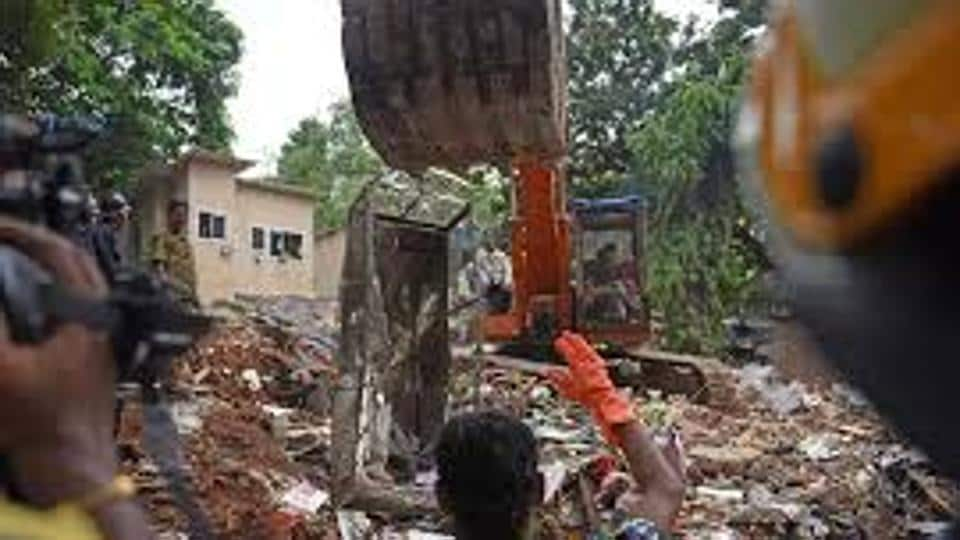 A ground plus four storey building Siddhi Sai collapsed at Ghatkopar on July 25 killing 17 people.