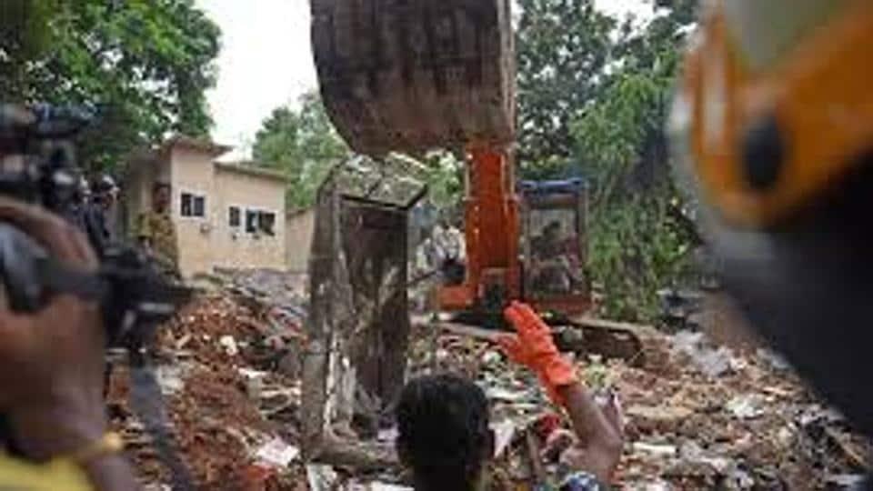 Mumbai,Ghatkopar,Ghatkopar building collapse