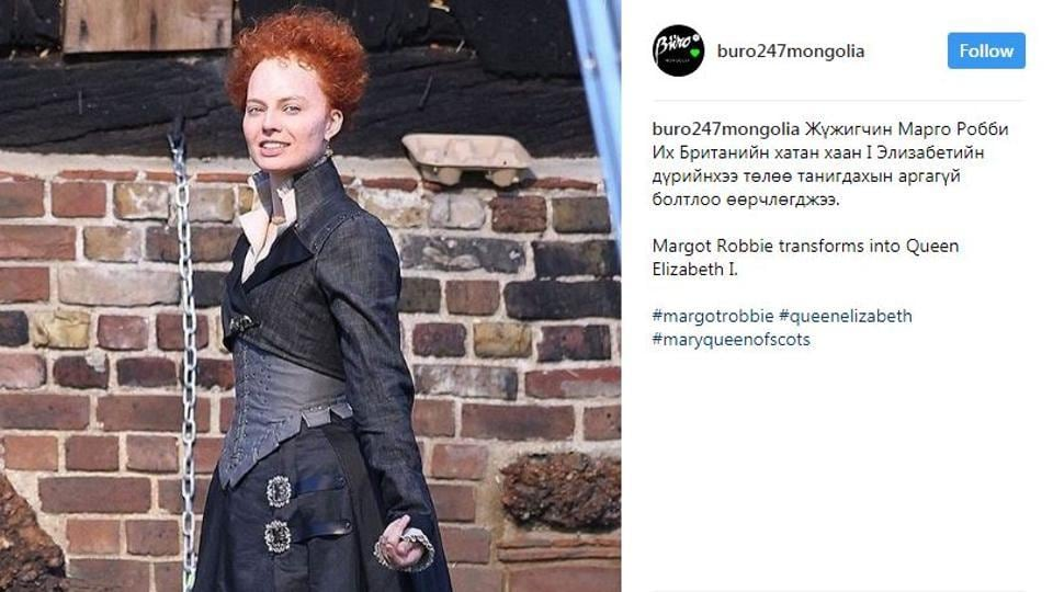 Margot Robbie,Mary Queen of Scots,Costume