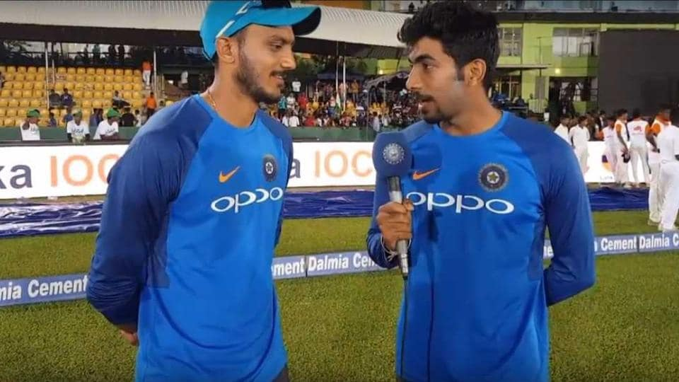 Jasprit Bumrah,Axar Patel,Indian Cricket Team
