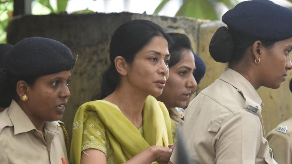 Indrani Mukerjea, accused in Sheena Bora case, brought at JJ Hospital for a medical check up on June 28, 2017.