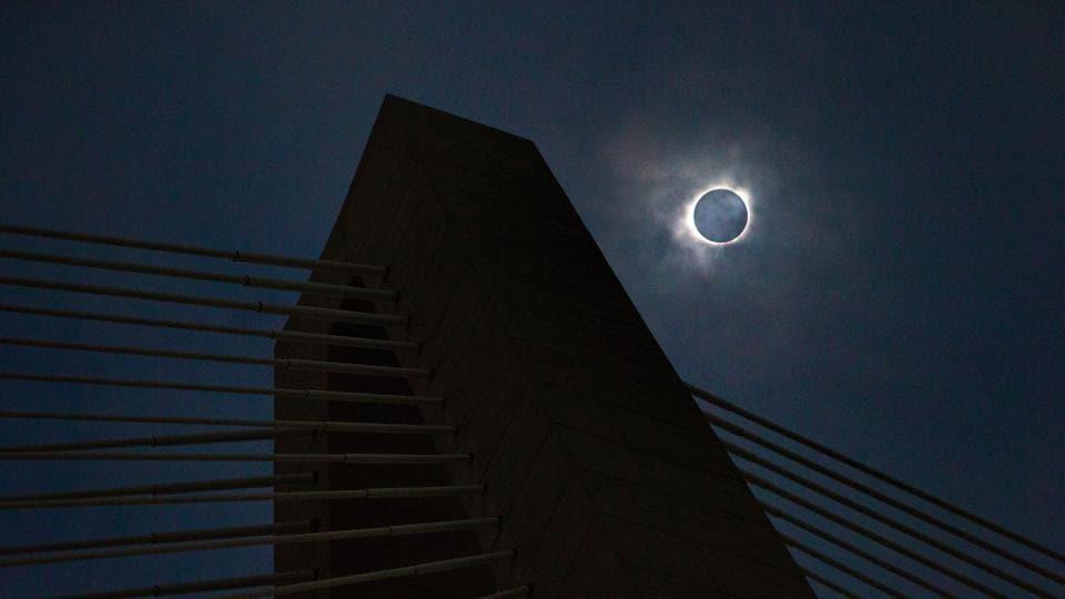 Solar eclipse,Solar eclipse 2017,Solar eclipse India
