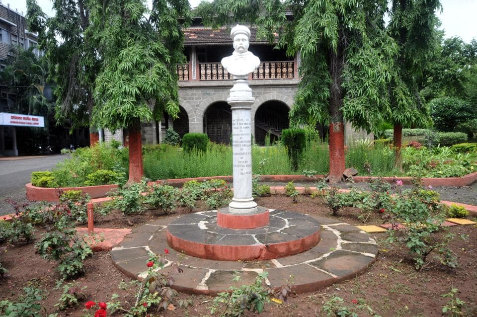 Gokhale Institute is spread over 10 acres, including five for residential area and five for the institute.