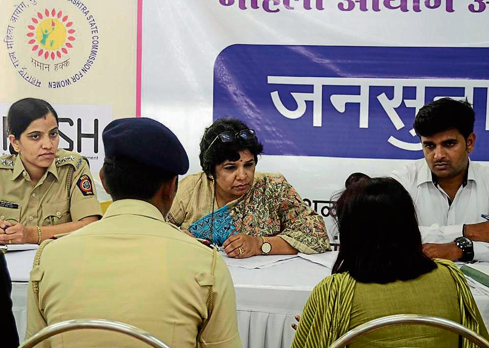 sexual harassment,public hearing,apla bhachat bhavan
