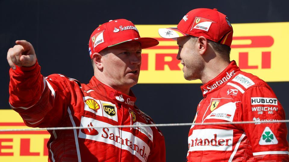 Kimi Raikkonen,Ferrari,Formula One