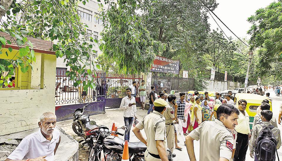 Man stabbed to death inside police station in Delhi