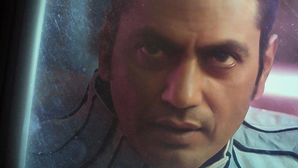 Nawazuddin Siddiqui in a poster of Carbon.