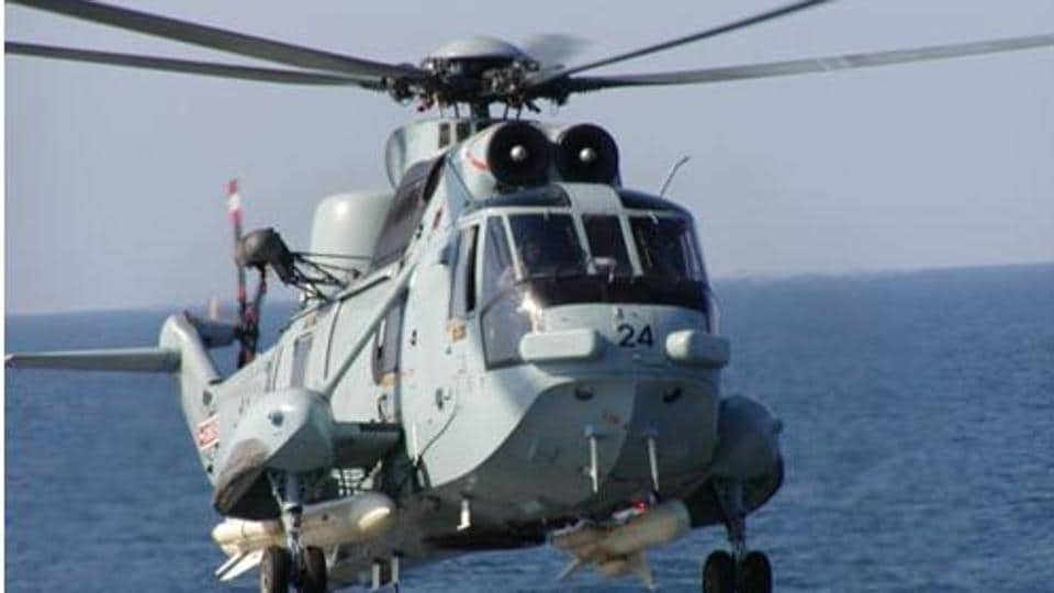 ASea King variant. The Indian Navy is looking to replace its ageing fleet of Sea Kings and Chetaks.