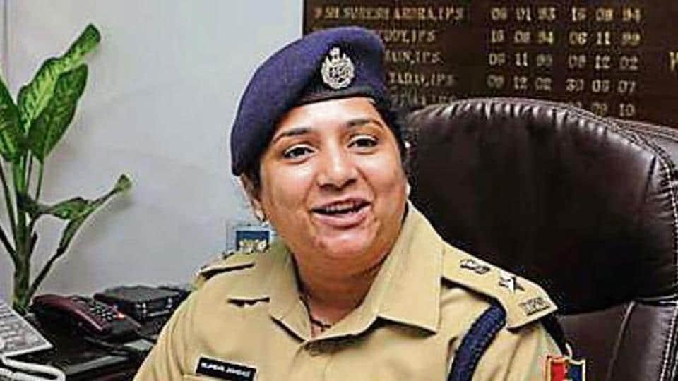 first woman SSP,Chandigarh,Nilambari Vijay Jagdale